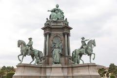 Maria Theresa monument Royalty Free Stock Photo