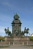 Maria Theresa-Monument in Maria-Thesienplatz, Wien, Österreich Lizenzfreie Stockbilder