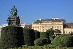 Maria Theresa-Monument in Maria-Thesienplatz, Wien, Österreich Stockfoto