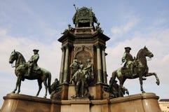 Maria-Theresa Monument in Vienna Stock Photo