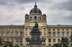 Maria Theresa monument in Vienna Stock Image