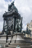 Maria Theresa Monument, Vienna royalty free stock images