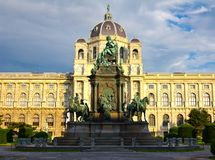 Maria Theresa Statue Royalty Free Stock Images