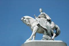Maria Theresa staty i Bratislava Royaltyfria Foton
