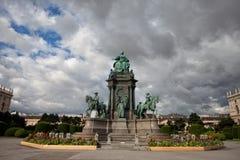 Maria Theresa zabytek w Wiedeń Fotografia Stock