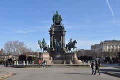 Maria Theresa zabytek w Wien Zdjęcia Royalty Free