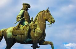 Maria Theresas General Statue stock photos