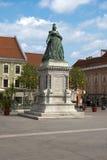 Maria Theresia landmark. Empress Maria Theresia Monument. Austria. Klagenfurt stock photo