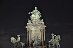 Maria Theresia monument, Vienna Royalty Free Stock Photo