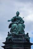 Maria Theresia Monument, in Vienna Stock Photos