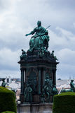 Maria Theresia Monument, in Vienna Royalty Free Stock Images