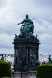 Maria Theresia zabytek w Wiedeń, Obrazy Royalty Free