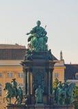 Maria Theresia zabytek w Wiedeń Zdjęcie Stock