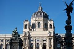 Maria Theresien Denkmal Wien Stock Image