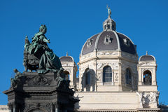 Maria Theresien Denkmal Wien Stock Photos