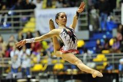 Maria Villucchi at A1 Italian Championship Royalty Free Stock Photos
