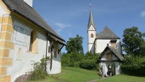 Maria Warty kościół na Worthersee zbiory