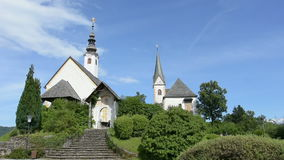 Maria Warty kościół na Worthersee zdjęcie wideo