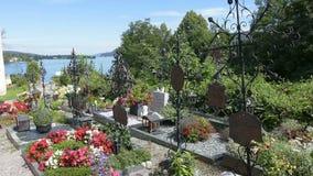 Maria Warty kościelnego cmentarz na Worthersee zbiory