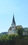 Maria Worth. Church. Austria Stock Photo