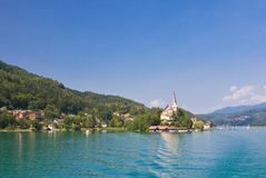 Maria Worth. Church of St. Primus and Felician. Austria Stock Image