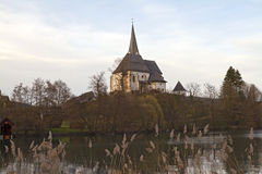 Maria Worth Pilgrimage Church Royalty Free Stock Photo