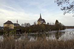 Maria Worth Pilgrimage Church Royalty Free Stock Photos