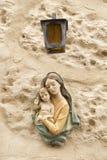 Maria y Jesús Imagenes de archivo