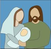 Maria y José Imágenes de archivo libres de regalías