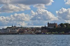 Mariaberget and Södermalm Stock Photo
