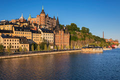 Mariaberget, Stockholm. Stock Photography