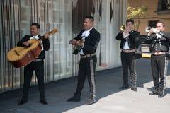 Mariachi σε Plaza Garibaldi στην Πόλη του Μεξικού Στοκ εικόνα με δικαίωμα ελεύθερης χρήσης