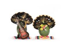 mariachi авокадоов Стоковые Изображения RF