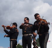 Mariachi Band At Edmonton's Heritage Days 2013 Royalty Free Stock Photos