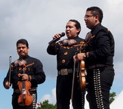 Mariachi Band At Edmonton's Heritage Days 2013 Stock Images