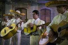 Mariachi Band, San Miguel de Allende, Mexico Stock Photos