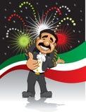 Mariachi felice Immagine Stock Libera da Diritti