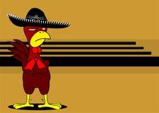 Mariachi mexicain background4 de poulet illustration libre de droits