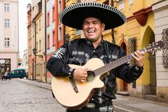 Mariachi mexicain de musicien Photo libre de droits