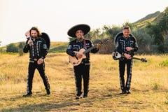 Mariachi mexicain de musiciens image libre de droits