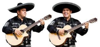 Mariachi mexicano do músico Imagem de Stock Royalty Free