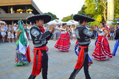 Mariachi musicians Royalty Free Stock Photo