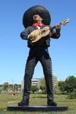 ` Mariachi ` Skulptur durch Künstler Steward Johnson in Hamilton, NJ Lizenzfreies Stockfoto