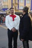 Mariachi. On the street of Tijuana, Mexico Stock Image