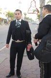 Mariachi. On the street of Tijuana, Mexico Stock Photography