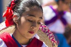 Mariachi tancerza portret Zdjęcia Royalty Free