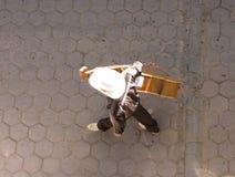 Mariachi von oben Stockfotos