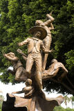 Mariachis sculpture Stock Photos