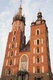 Mariacka Basilica Church; Krakow Royalty Free Stock Photo