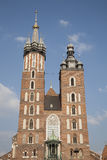 Mariacka Basilica - St Marys Church, Krakow Stock Photography